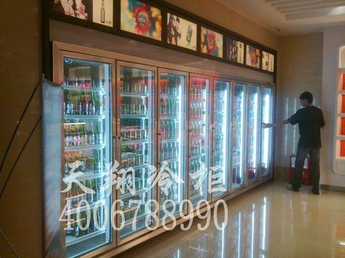 东莞厚街明丰广场音乐魔方KTV啤酒柜-酒吧饮料柜工程案例
