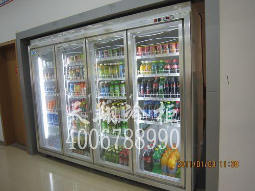 四门冷柜,四门冰柜,便利店展示柜,展示柜冷柜
