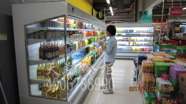 超市冷柜,饮料冰柜,广州冷藏柜