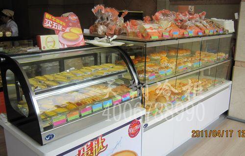 广州皇后饼店蛋糕柜-面包柜-蛋糕保鲜柜工程案例