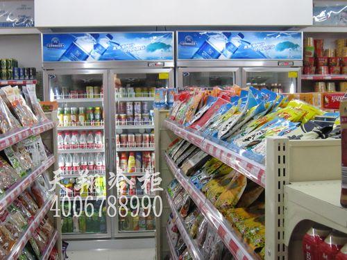 福州冷柜,双开门冰柜,便利店饮料柜