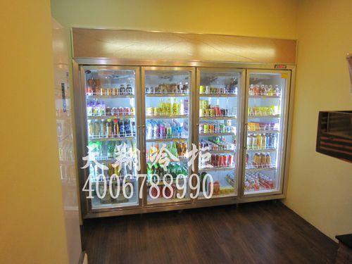 广州冰柜,四门展示冷柜,冷柜价格,四门冷柜