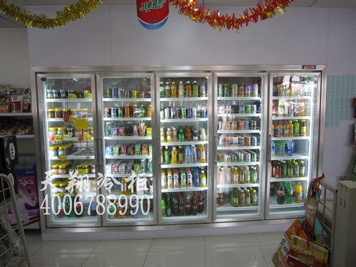 五门饮料冰柜,便利店冰柜,五门冰柜价格,大型冰柜