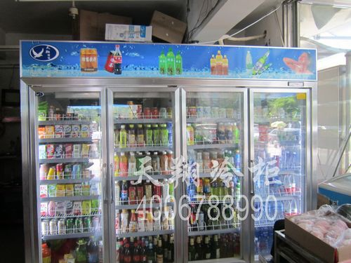 厦门冷柜,四门冷藏柜,玻璃门展示柜,冰柜价格