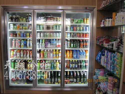 广州三门冷柜,便利店冷柜,雪柜价格,冷藏柜尺寸