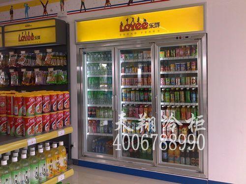 服务区便利店冷柜,三开门展示柜,立式冷藏柜,冰柜价格