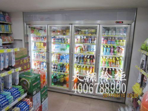 广州四门冷藏柜,便利店冷柜,饮料陈列保鲜柜,广州冷柜