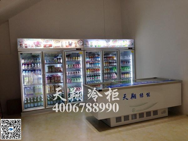 六门冰柜,冷藏展示柜,卧式冰柜