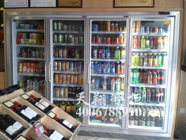 立式冰柜,四门冰柜