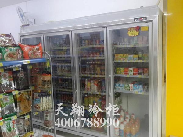 超市冰柜,四门冰柜