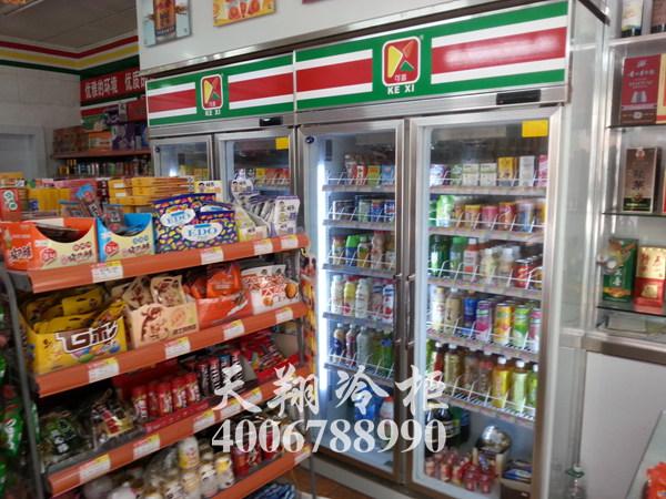 广州冰柜,便利店冰柜,双开门冰柜