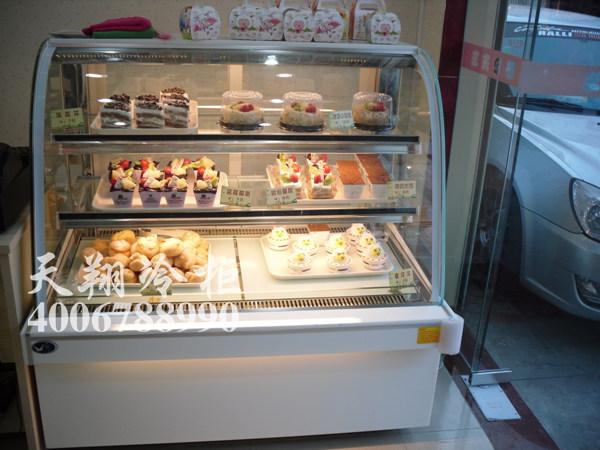 生日蛋糕柜,常温面包柜,盘叉柜