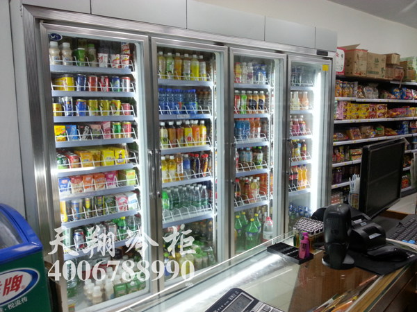 便利店冷藏柜,四门冷藏柜