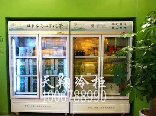 两门冷柜,展示冷柜,立式冰柜,茶叶保鲜柜