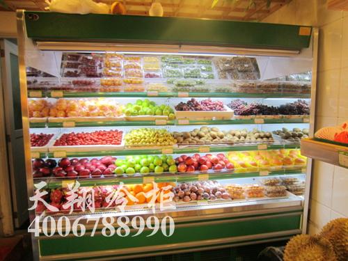 水果保鲜柜,水果风幕柜