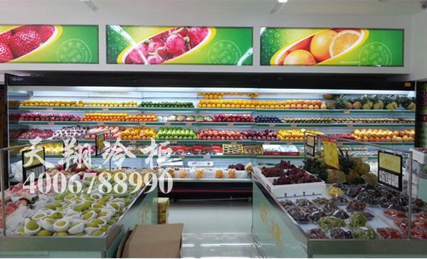 水果风幕柜