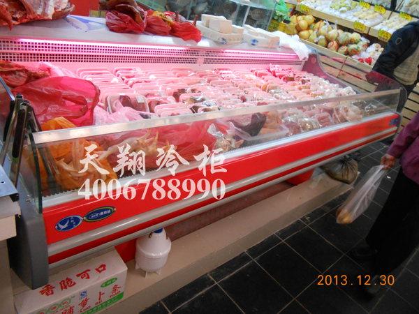 超市生鲜柜,四门冰柜,超市饮料柜