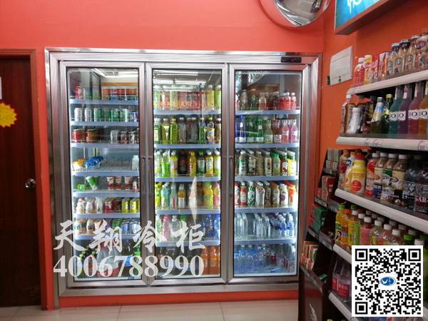 三门冰柜,后补货冰柜