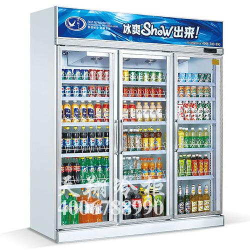 三门冰柜,便利店展示柜,饮料冷藏柜,冷柜价格
