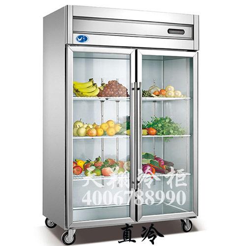 厨房冰柜,冷柜,立式冷藏柜,风幕柜