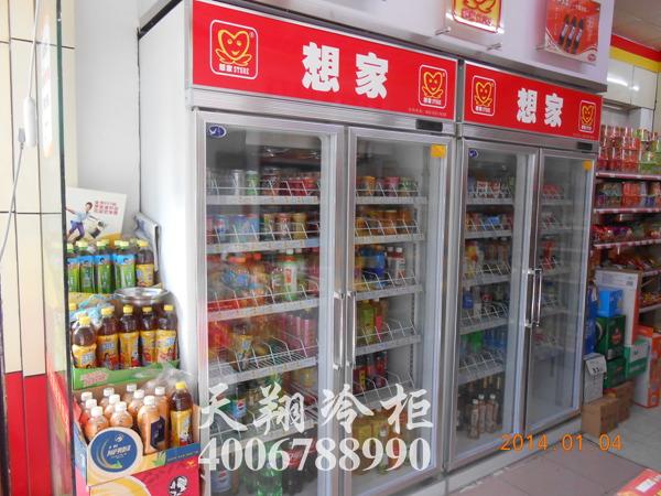 便利店冰柜,双门冰柜