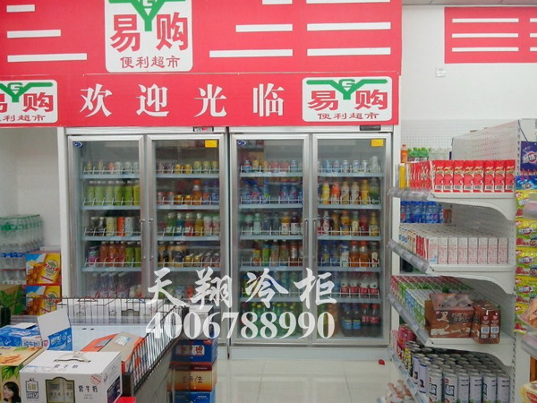 双开门冰柜,便利店冷柜,便利店冰柜