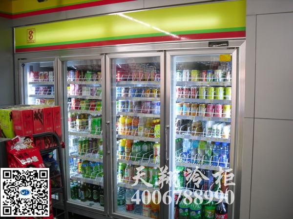 四门冰柜,保鲜冰柜,便利店冰柜