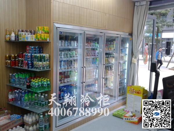 四门冰柜,冰柜价格,展示冰柜