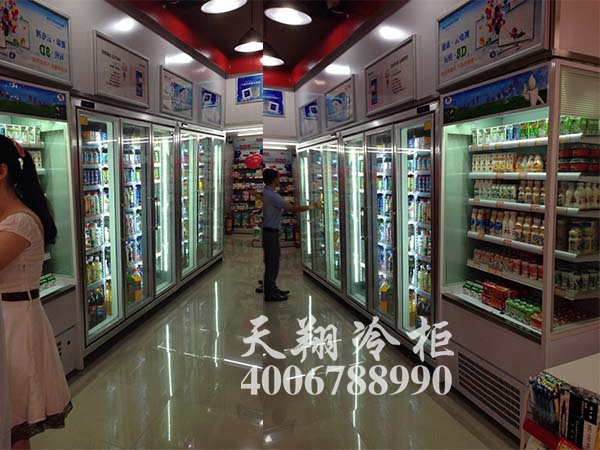 三门冷藏柜,牛奶柜,便利店冰柜