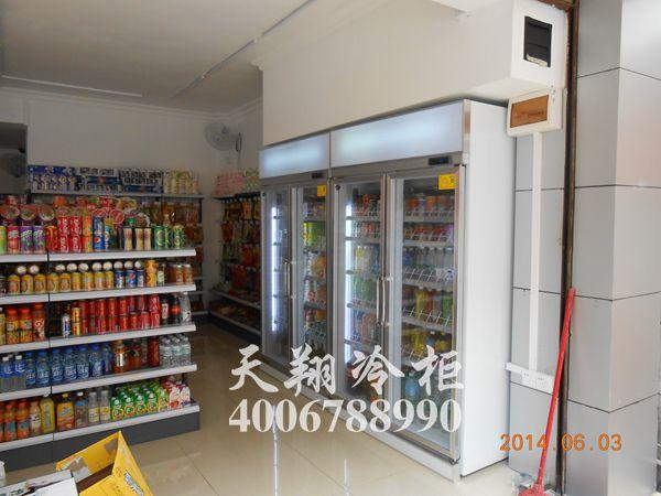 便利店冰柜,双开门冰柜,冰柜报价