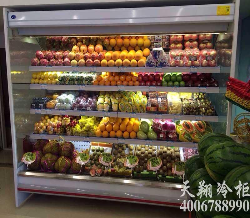 超市风幕柜,超市冷柜,超市冰柜,水果保鲜柜