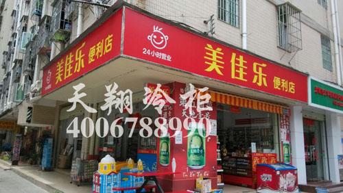 便利店冷柜,两门冷柜,冰柜价格,冰柜厂家