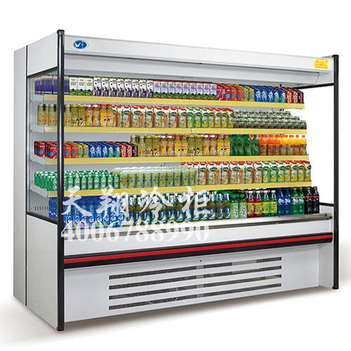 超市冷柜风幕柜也可称为立风柜