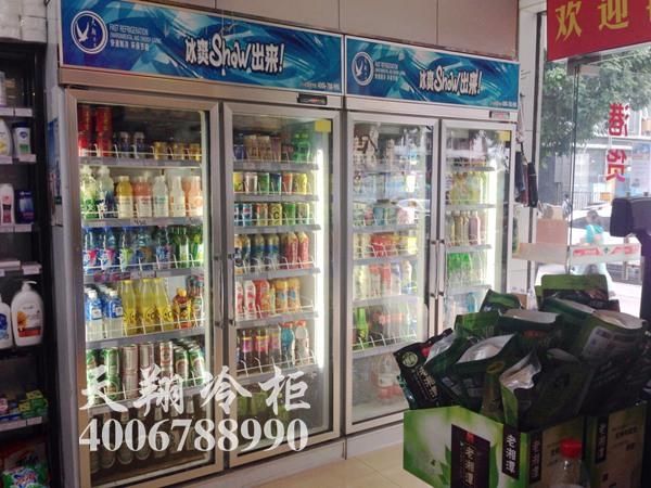 便利店冰柜,双门冰柜,冰柜报价