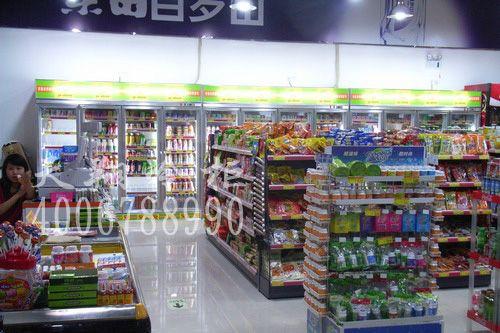 江门吉喜超市_冰柜规格_冰柜展示柜_冰柜尺寸工程案例