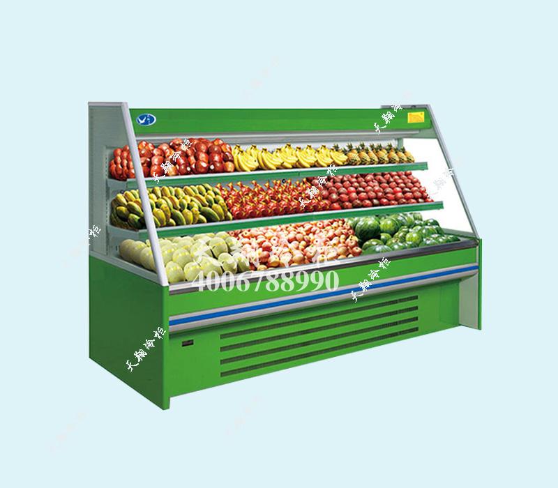水果展示冰柜,蔬菜展示冰柜,冰柜,天翔冷柜,超市冰柜
