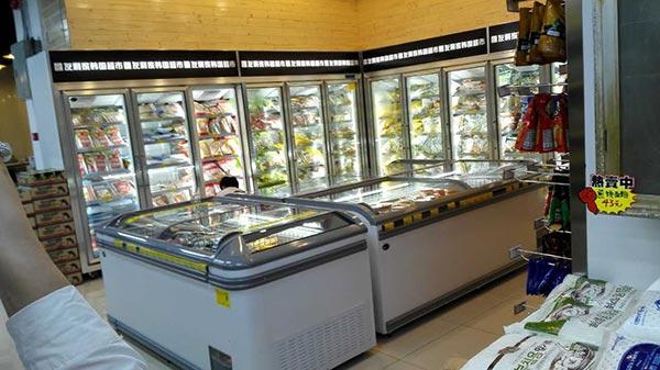 超市冰柜,冰柜,天翔冷柜,超市冰柜结冰怎么办?