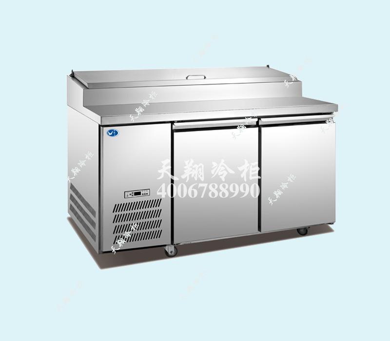 比萨保鲜柜,比萨冷藏柜,卧式保鲜柜,卧式冷藏柜