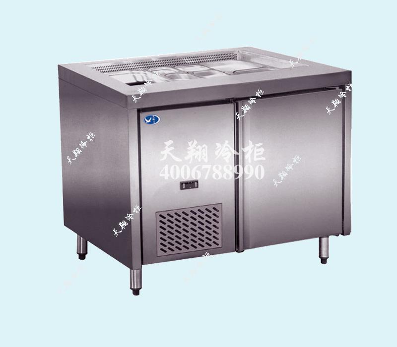 工作台冷柜,操作台冰柜,冷柜尺寸,冰柜品牌