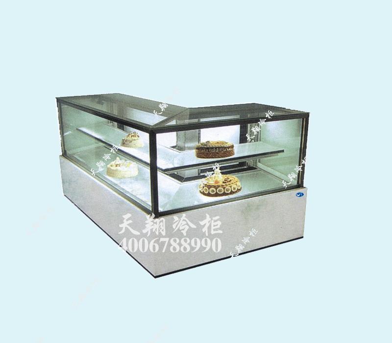 转角蛋糕柜,蛋糕柜价格,蛋糕保鲜柜,蛋糕展示柜