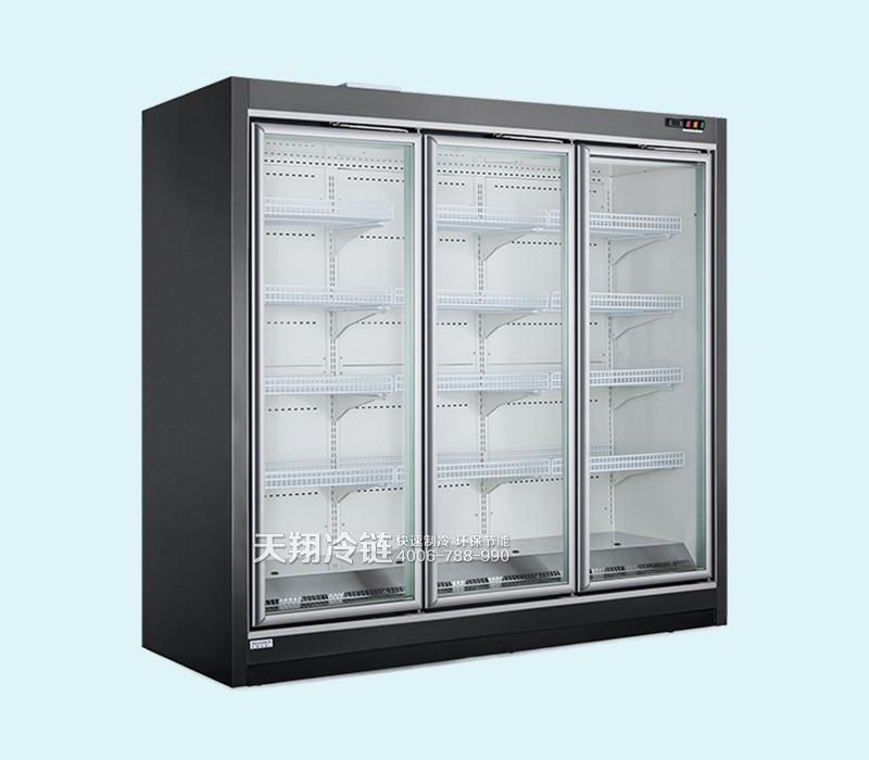 立式玻璃门分体低温柜
