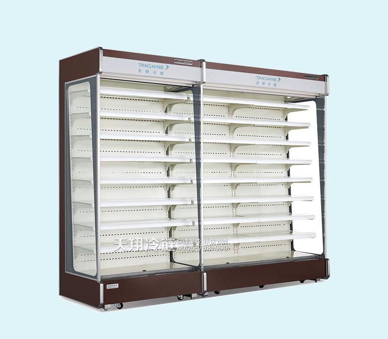 风幕柜,牛奶保鲜柜,冷藏展示柜