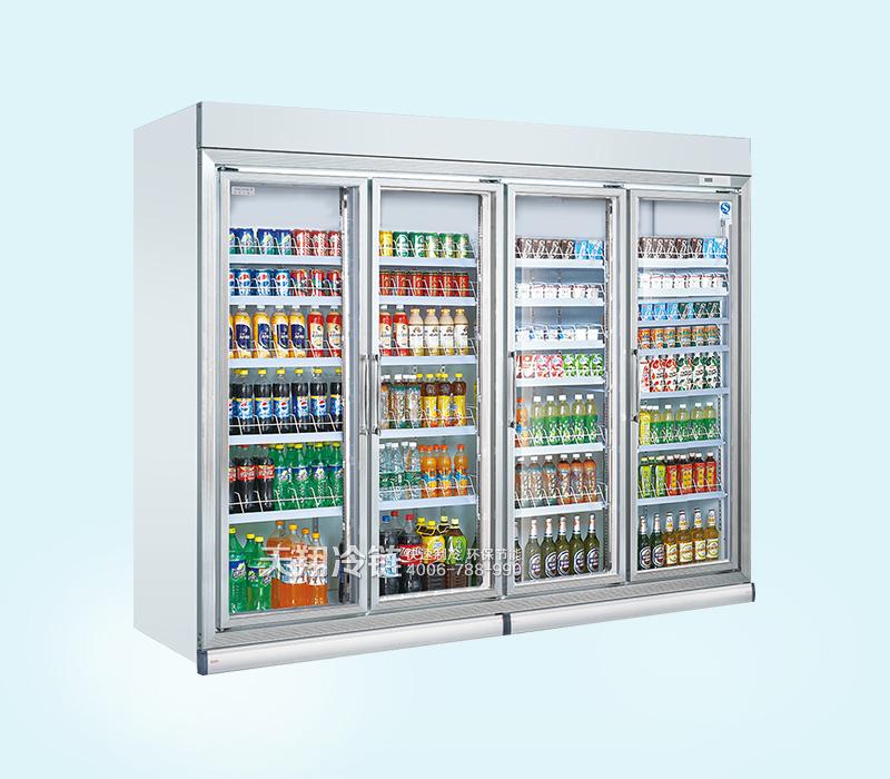 四门冷藏展示柜