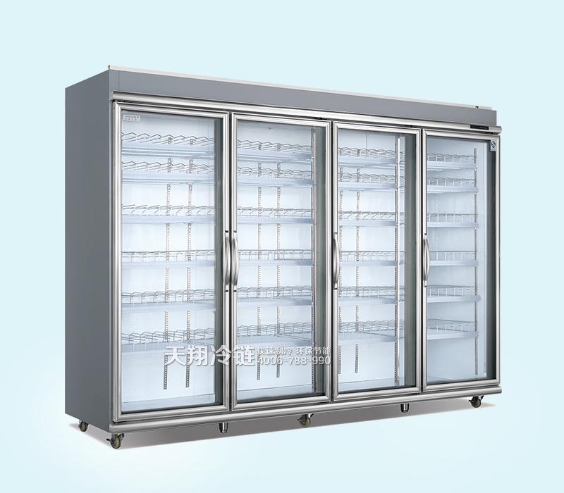 平头嵌入式冷藏展示柜