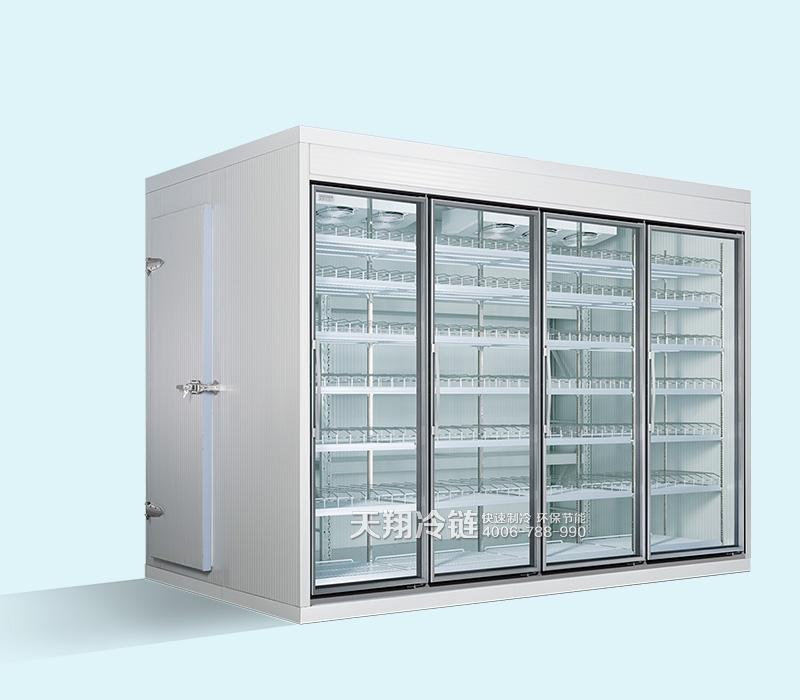 便利店冷柜,后补式冷库,冰柜