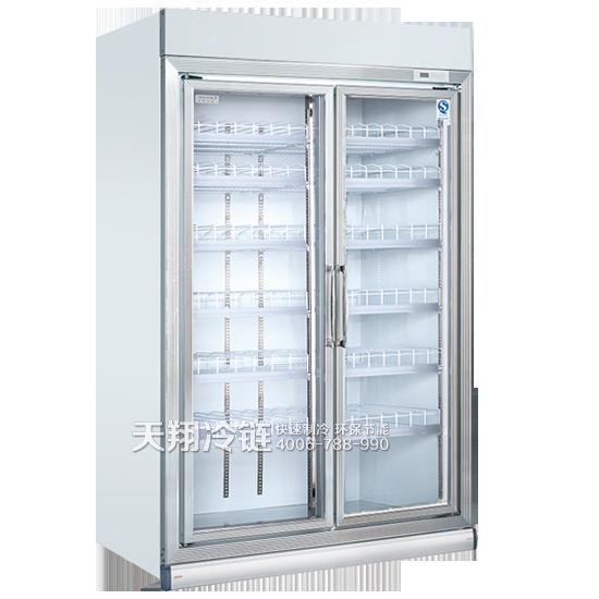 双开门冰柜,立式展示柜,便利店冰柜,冰柜厂家